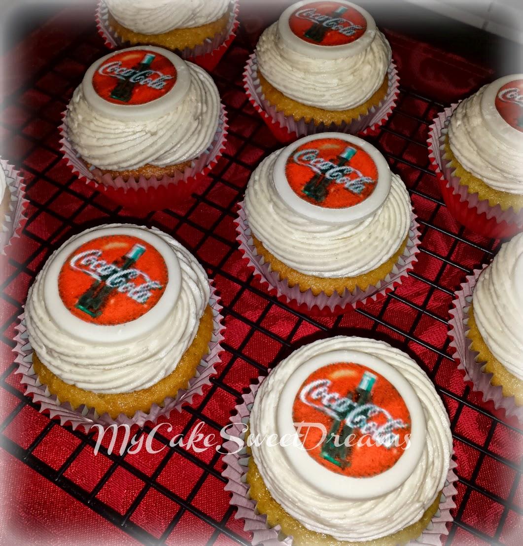Pleasant Cakesbyzana Coca Cola Can Birthday Cake Cupcakes Funny Birthday Cards Online Necthendildamsfinfo