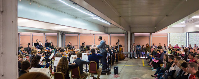 The Multi-Story Orchestra (Photo Sam Murray Sutton)
