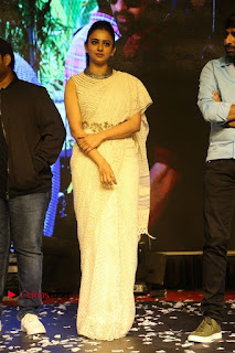 Actress Rakul Preet Singh Stills in White Dress at Winner Pre Release Function  0049.jpg