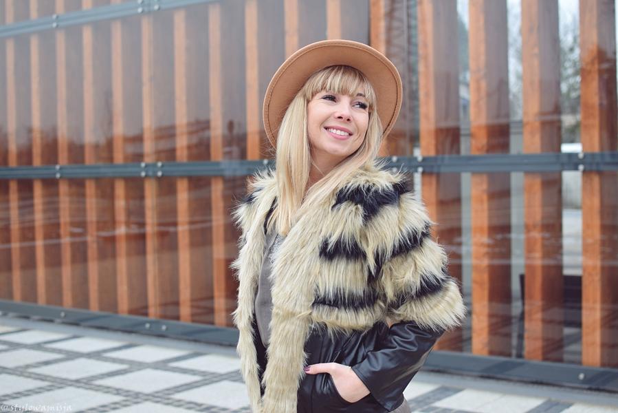 blogerka, sesja, portret, stylizacja, grzywka