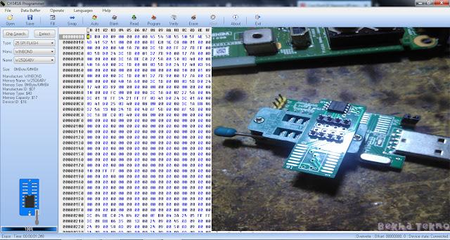 Cara Flash Bios Menggunakan Usb Programer CH431A