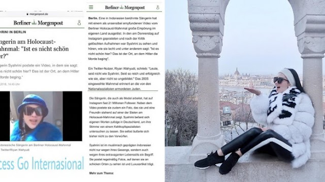 Heboh Fotonya di Berlin Holocaust Memorial Hingga Disorot Media Jerman, Ini Klarifikasi Syahrini