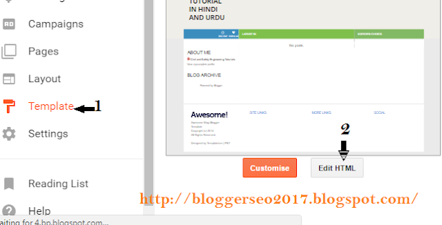 Heading Tag For Better SEO in Blogger