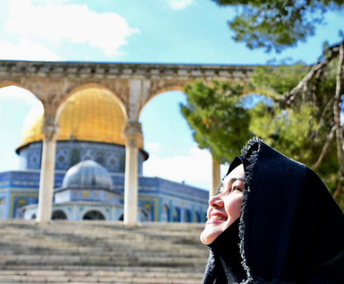 Ziarah Siti Nurhaliza & Suami Di Palestin