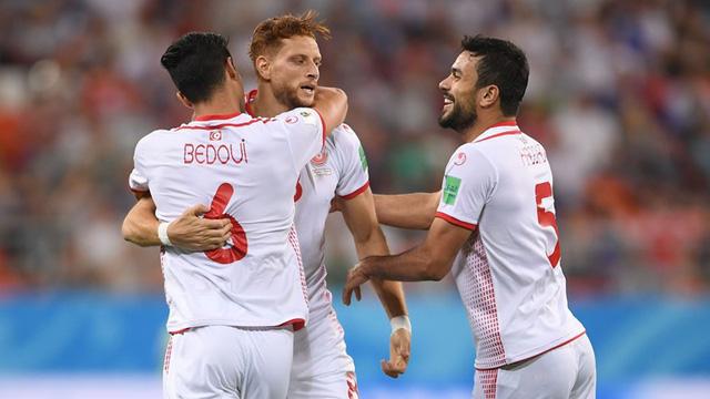 Cầu thủ Tunisia đi vào lịch sử World Cup