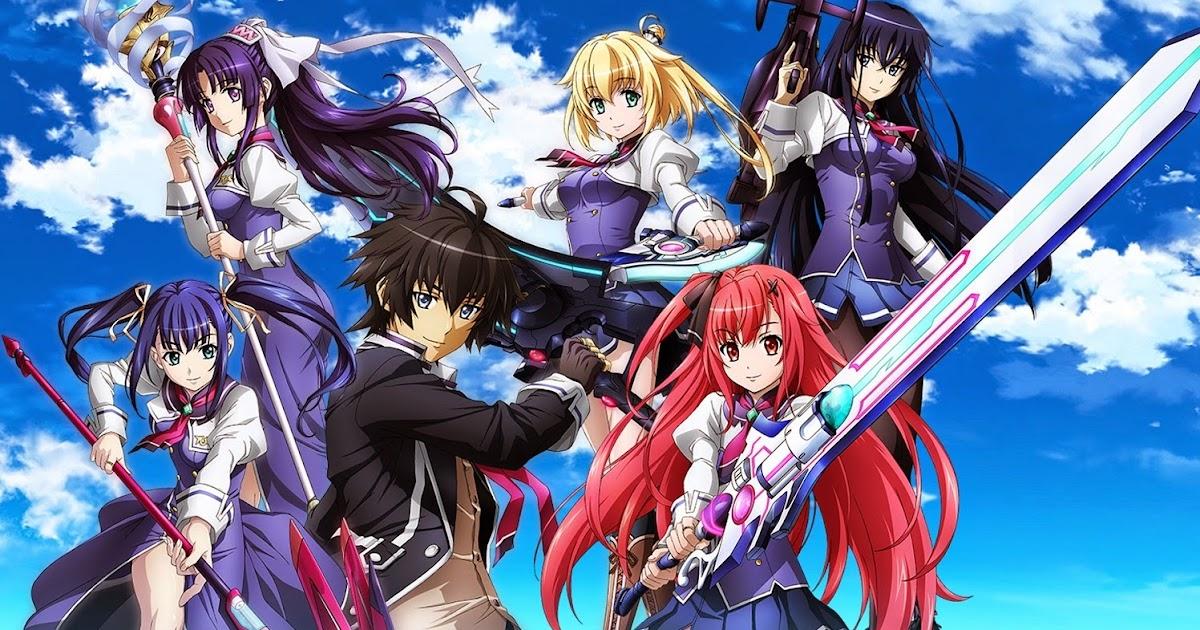 смотреть аниме онлайн про магию и школу