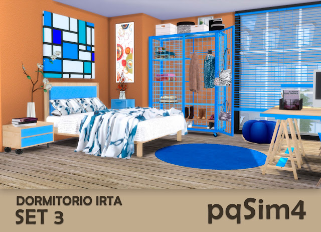 Set nº 3 del dormitorio Irta 3