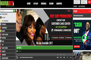 New NairaBET Website