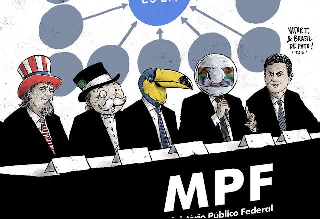 Resultado de imagem para charge mpf