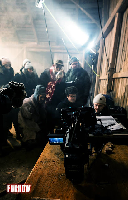 Furrow: scena dal set