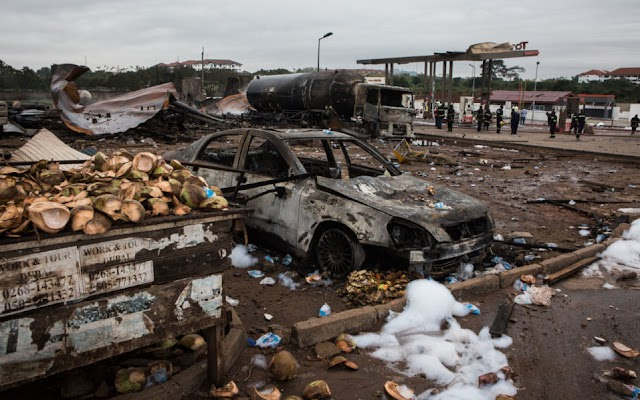 Ghana vows improved safety to stop gas fires, blasts
