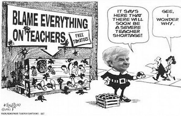 Big Education Ape: Michigan teachers demoralized, union