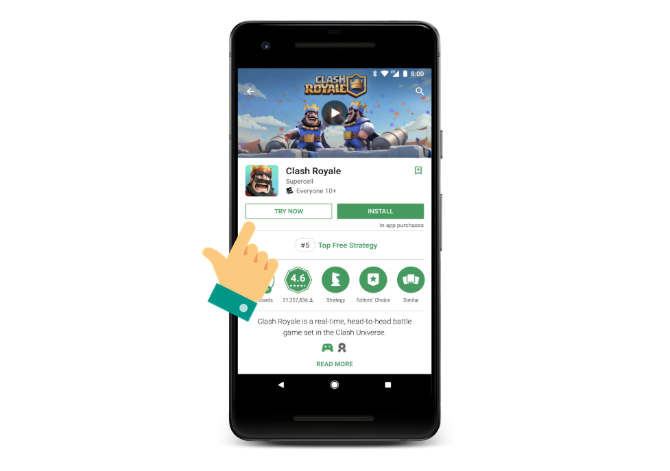 Google opens Instant Apps to all small or large game developers