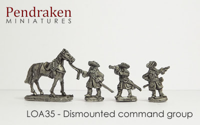 LOA35 - Dismounted Command group