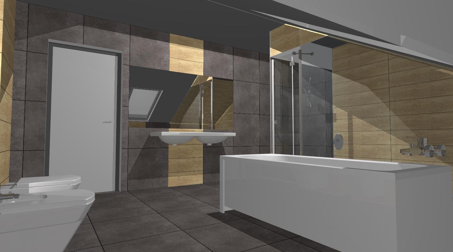 swl: łazienka z sauną