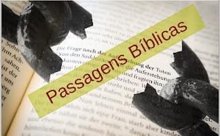 Versículos sobre Consagração
