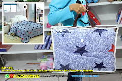 Selimut Rossinni Blue Star 180×200 Cm Pattern Biru Polyester Blanket