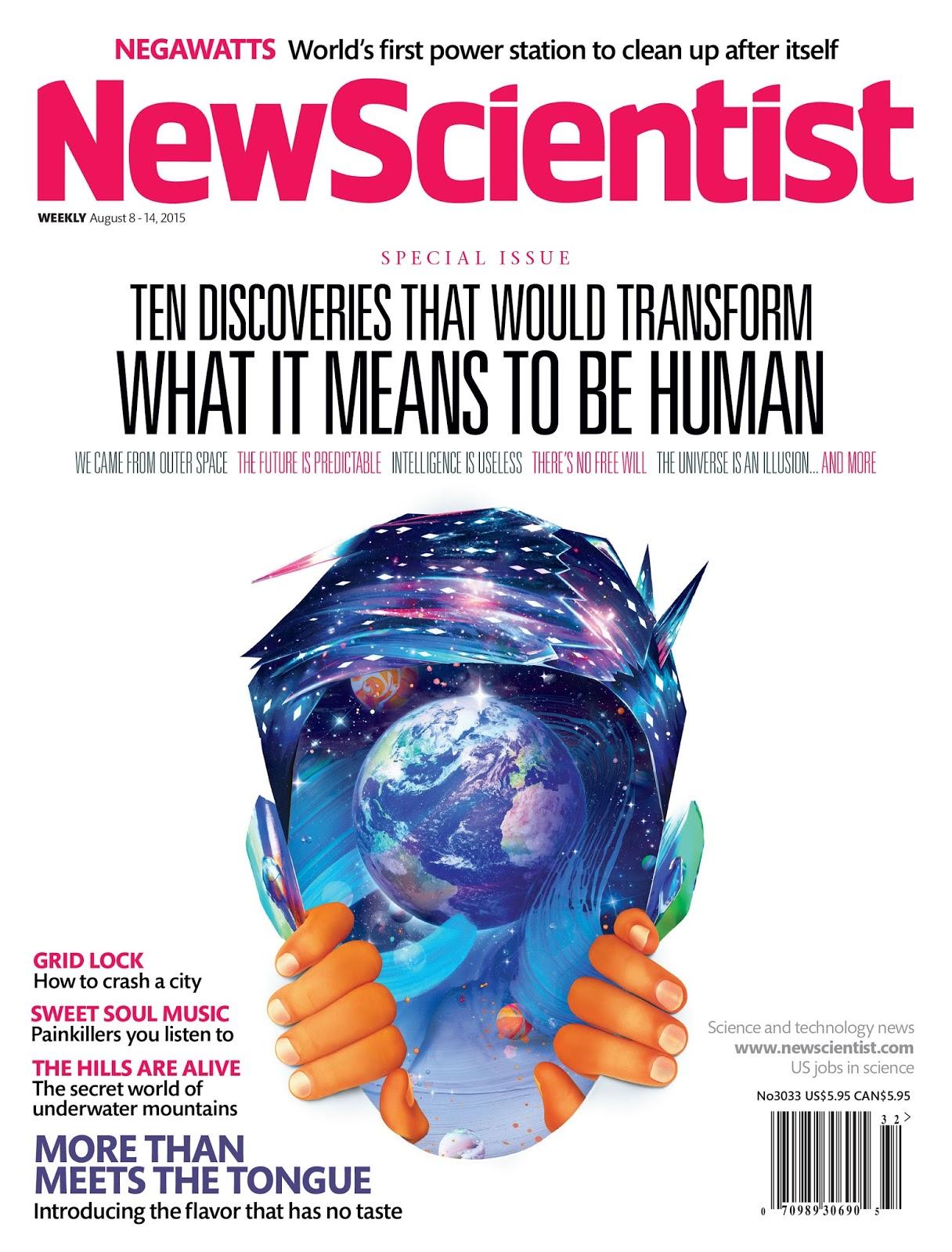 New Scientist Magazine Magazine