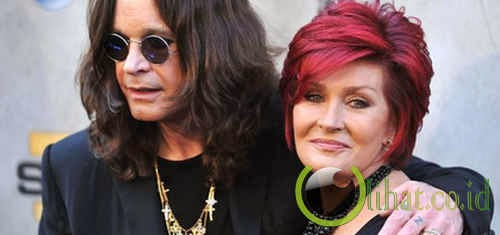 Ozzy dan sharon Osbourne