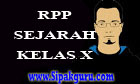 RPP Sejarah Kelas X | RPP