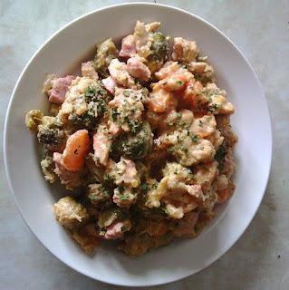 Fotografija jela piletina sa povrćem