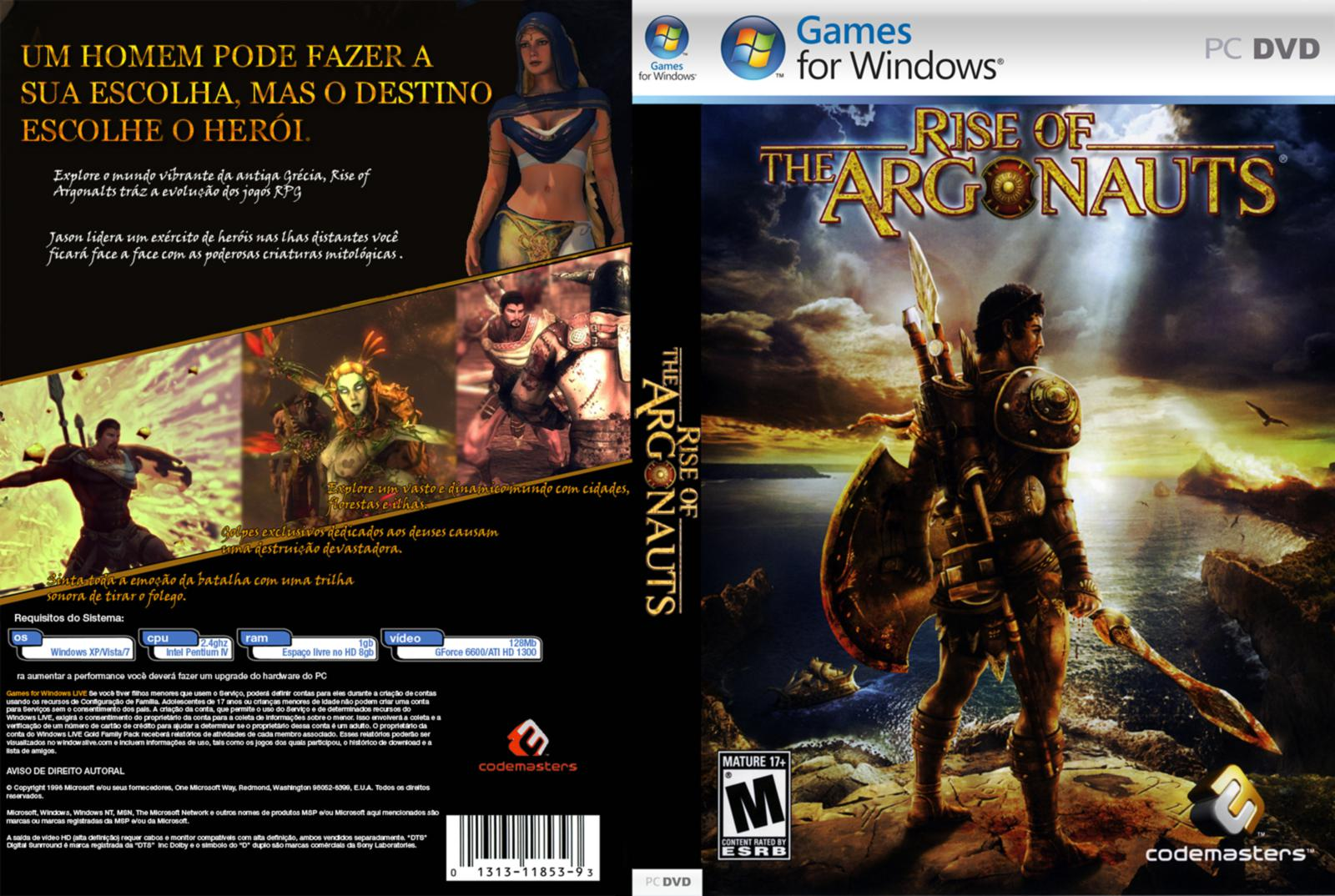 Capa Rise Of The Argonauts PC