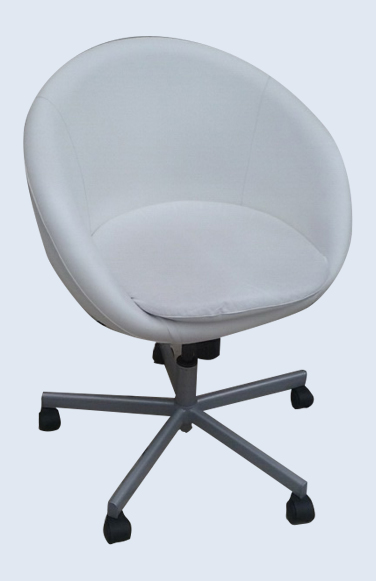 Groovy Uhuru Furniture Collectibles White Leather Bucket Chair Bralicious Painted Fabric Chair Ideas Braliciousco