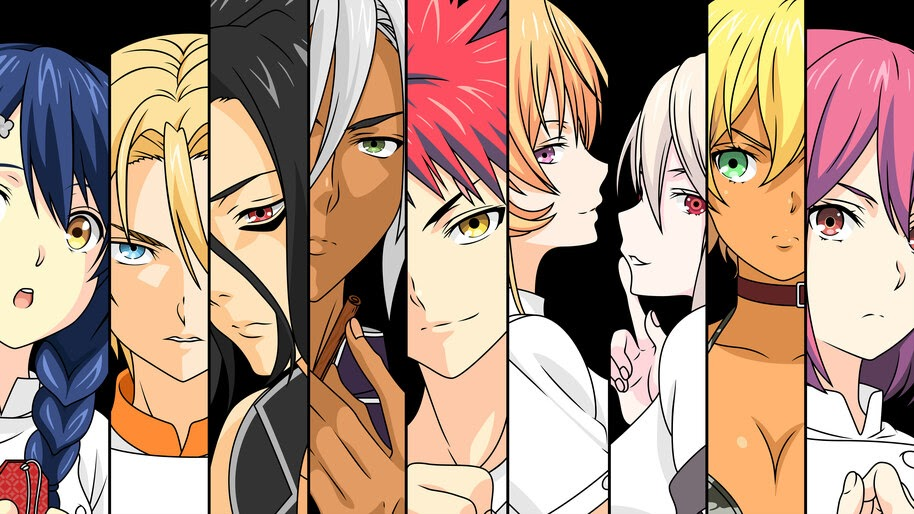 Food Wars, Anime, Characters, 8K, #3.1052