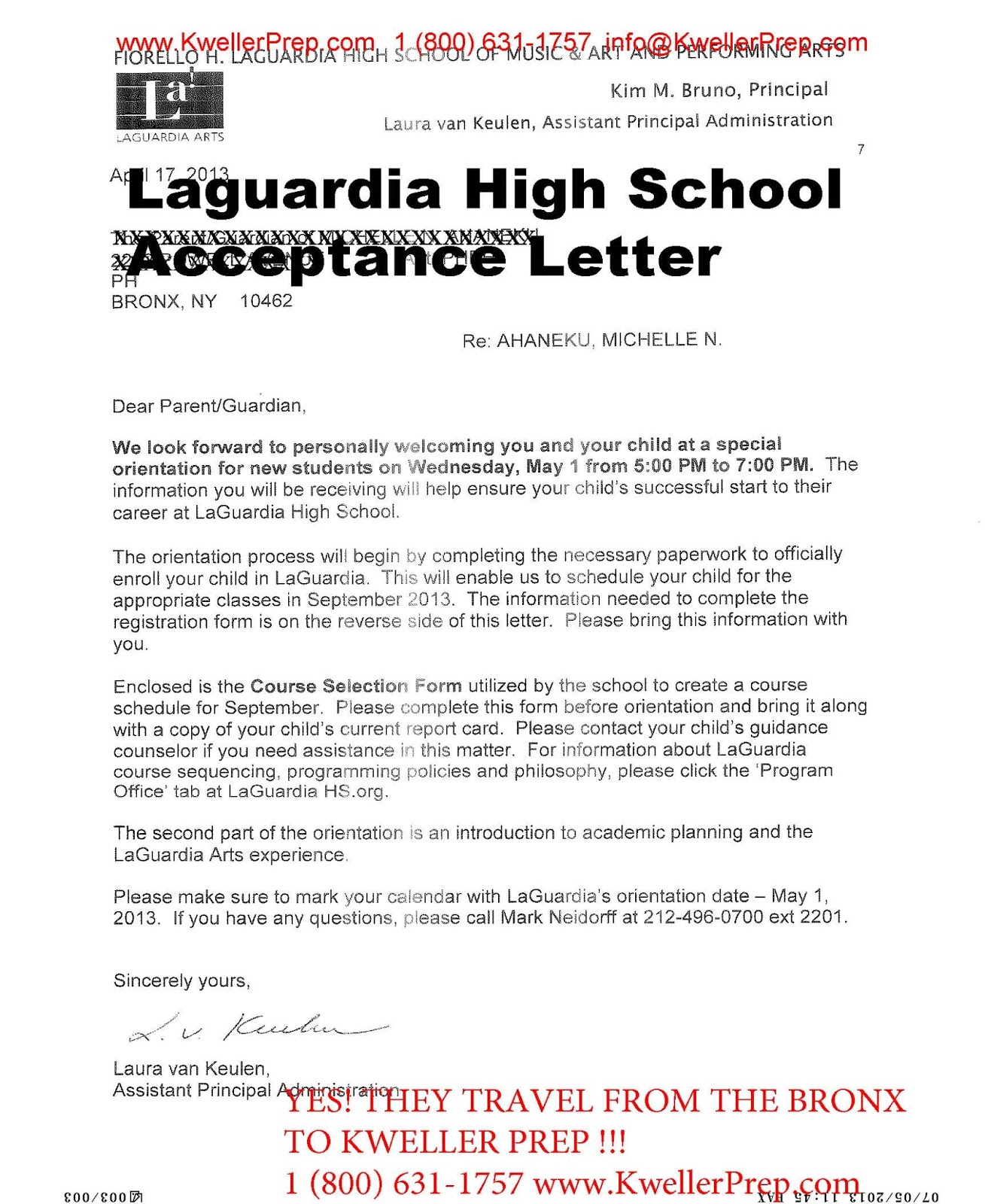 how to write acceptance letter for school - Monza berglauf-verband com