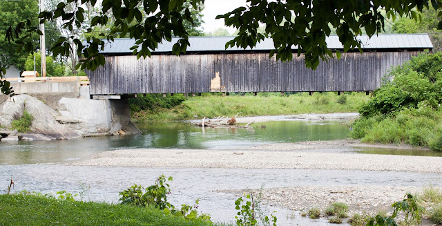 Covered Bridge in Waitsfield, VT