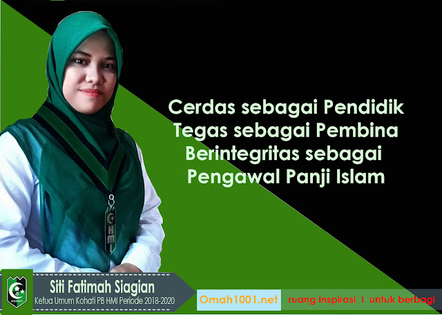 Siti Fatimah Siagian, Ketua Umum Kohati PB HMI