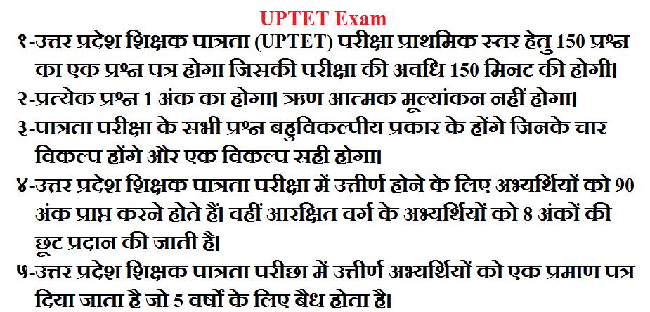 उत्तर प्रदेश शिक्षक पात्रता परीक्षा पाठ्यक्रम (प्राथमिक स्तर ) UPTET SYLLABUS