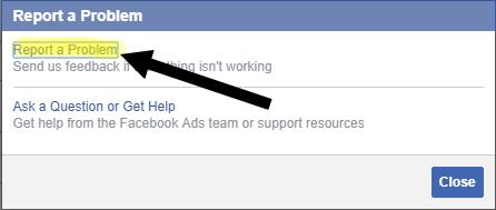 موقعي محظور على فيسبوك