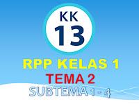 RPP Kelas 1 SD/MI Kurikulum 2013 Tema 2 Terbaru 2018 - Guru Nusantara