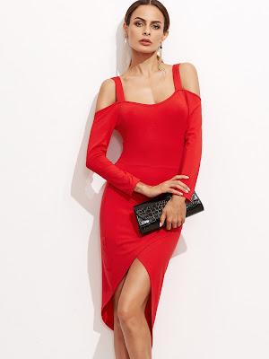 vestidos rojos de 15 años
