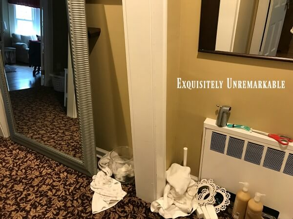 Hallway Mess