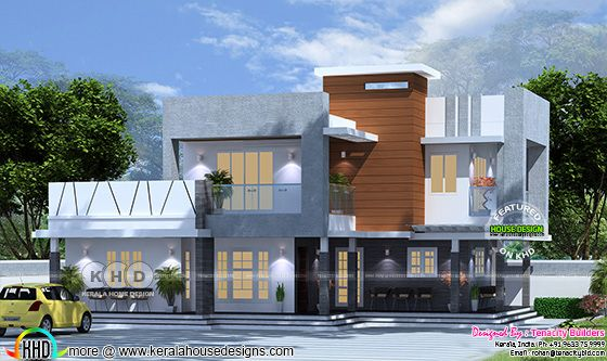 2044 square feet, 4 bedroom contemporary residence