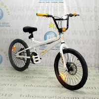 20 Inch Pacific X-Man 3.0 Alloy Freestyle BMX Bike