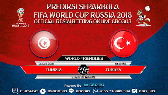 Prediksi Bola Tunisia VS Turkey 02 Juni 2018