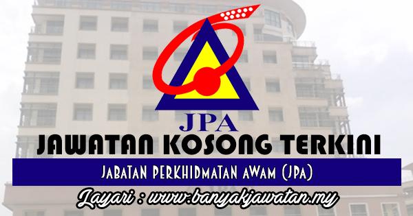 Jawatan Kosong 2017 di Jabatan Perkhidmatan Awam (JPA) www.banyakjawatan.my