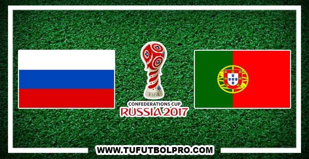 Ver Rusia vs Portugal EN VIVO Por Internet Hoy 21 de Junio 2017