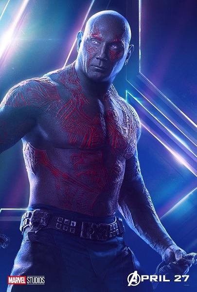 Avengers: Infinity War Drax the Destroyer