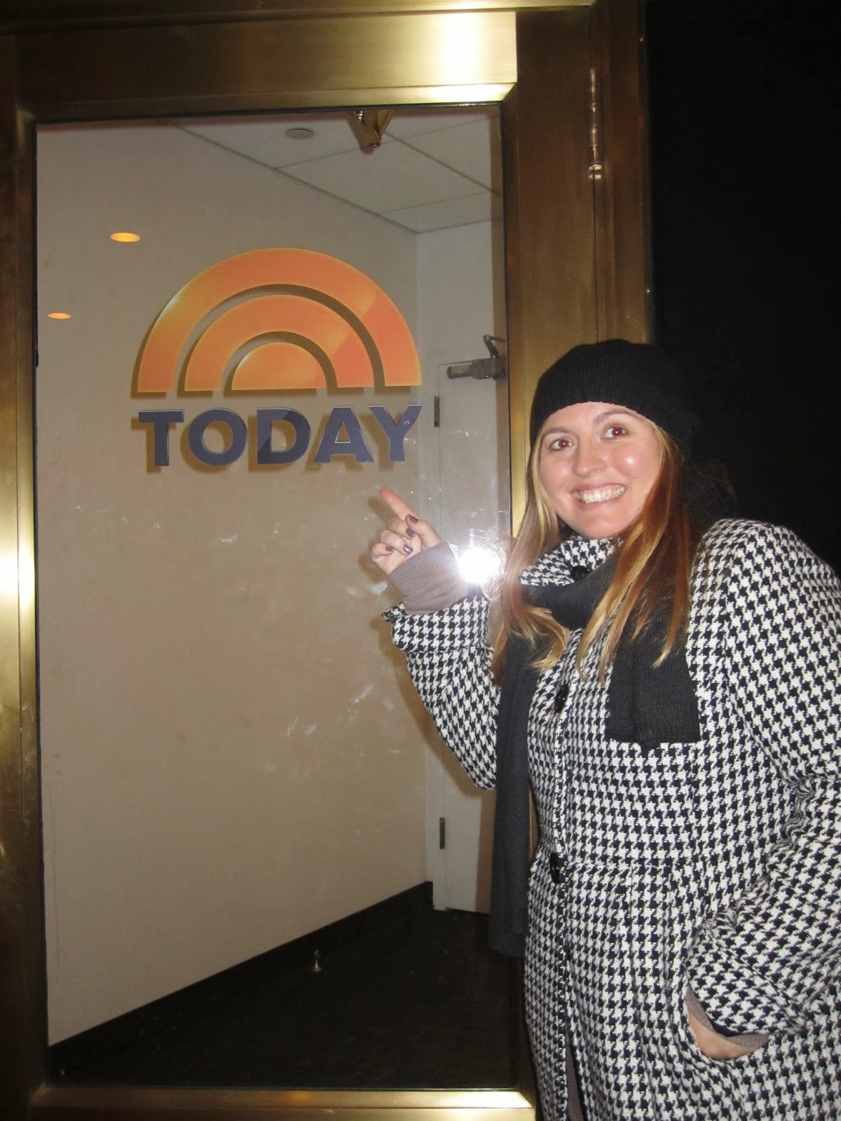 today show, new york city, woman smiling