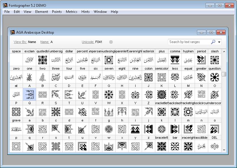 تحميل برنامج تصميم الخطوط  Fontographer  اخر اصدار