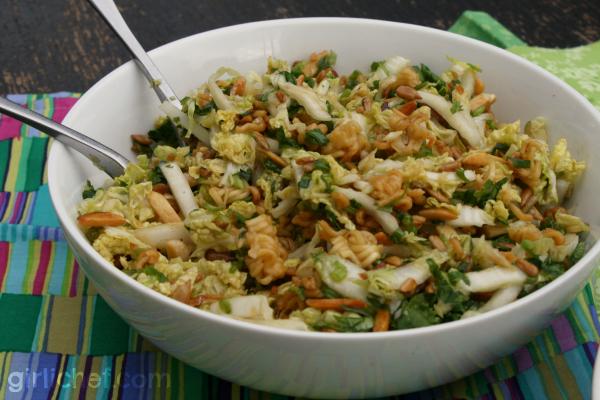 Crunchy Ramen Salad - 3 Ways
