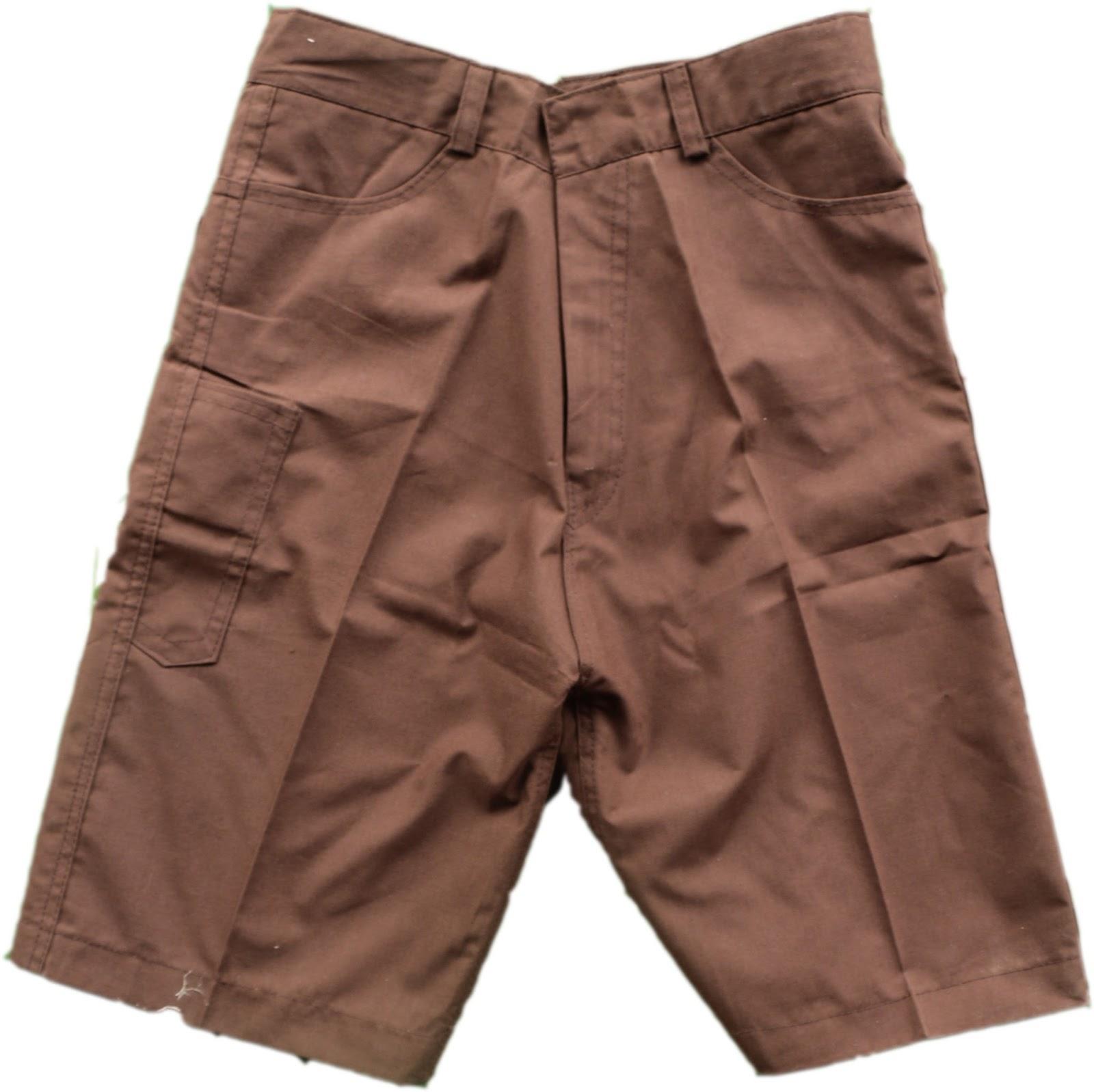 Celana Pramuka Pendek uk L,L2