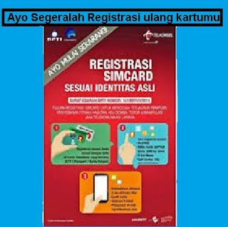 Registrasi Kartu SIM Lama dan Baru Tiap Operator