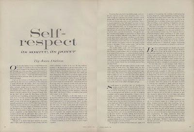 up like toast joan didion s celine campaign and self respect full essay here