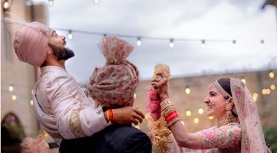 Wow !! Anushka Sharma And Virat Kohli Are Married