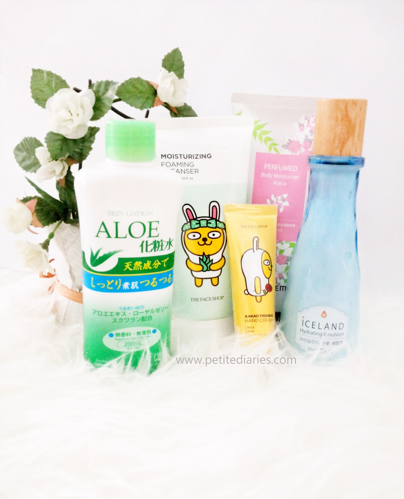 skincare haul korean